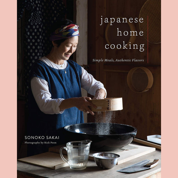 PRE-ORDER Signed Copy of Japanese Home Cooking: Simple Meals, Authentic Flavors (Sonoko Sakai)