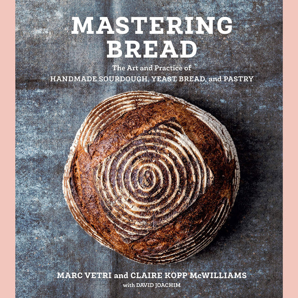 Signed Bookplate-Mastering Bread: The Art and Practice of Handmade Sourdough, Yeast Bread, and Pastry (Marc Vetri, Claire Kopp McWilliams, David Joachim)
