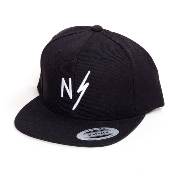 Now Serving NS Lightning Bolt Classic Snapback Hat