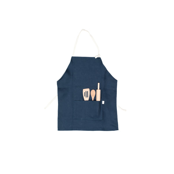 Odette Williams Children's Linen Apron Set (3-8)