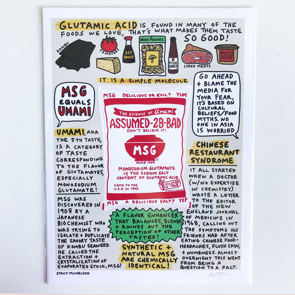 Stacy Michelson MSG Print