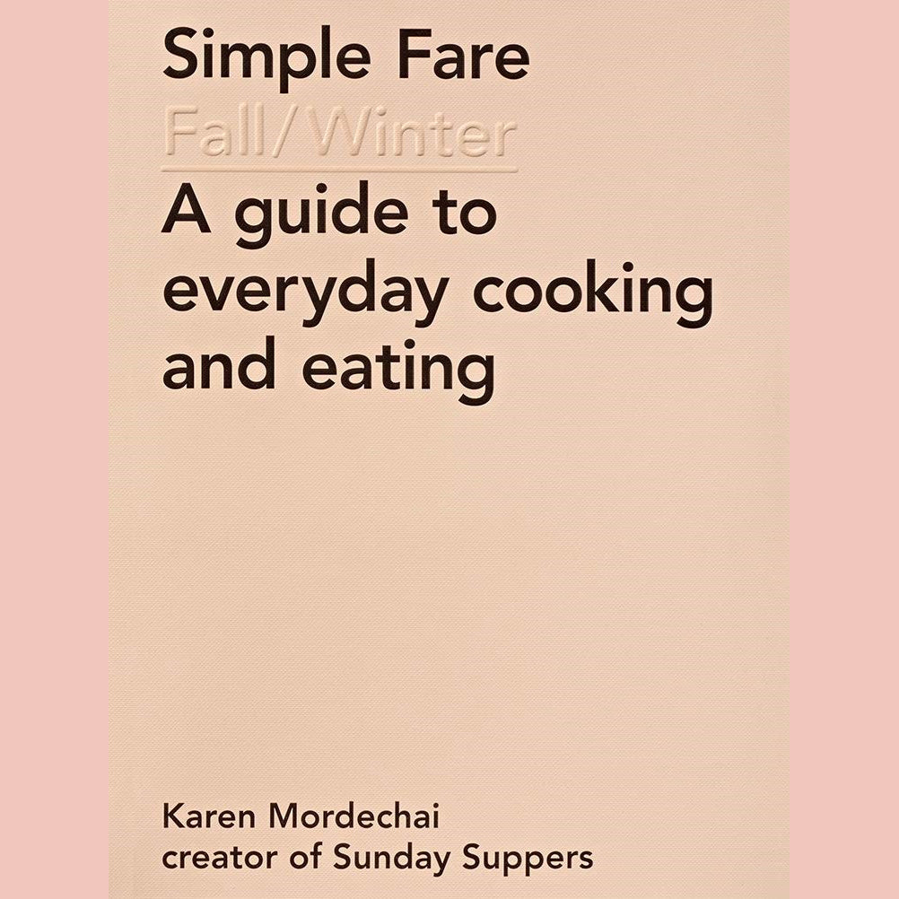 FURLOUGH: Simple Fare: Fall and Winter (Karen Mordechai)