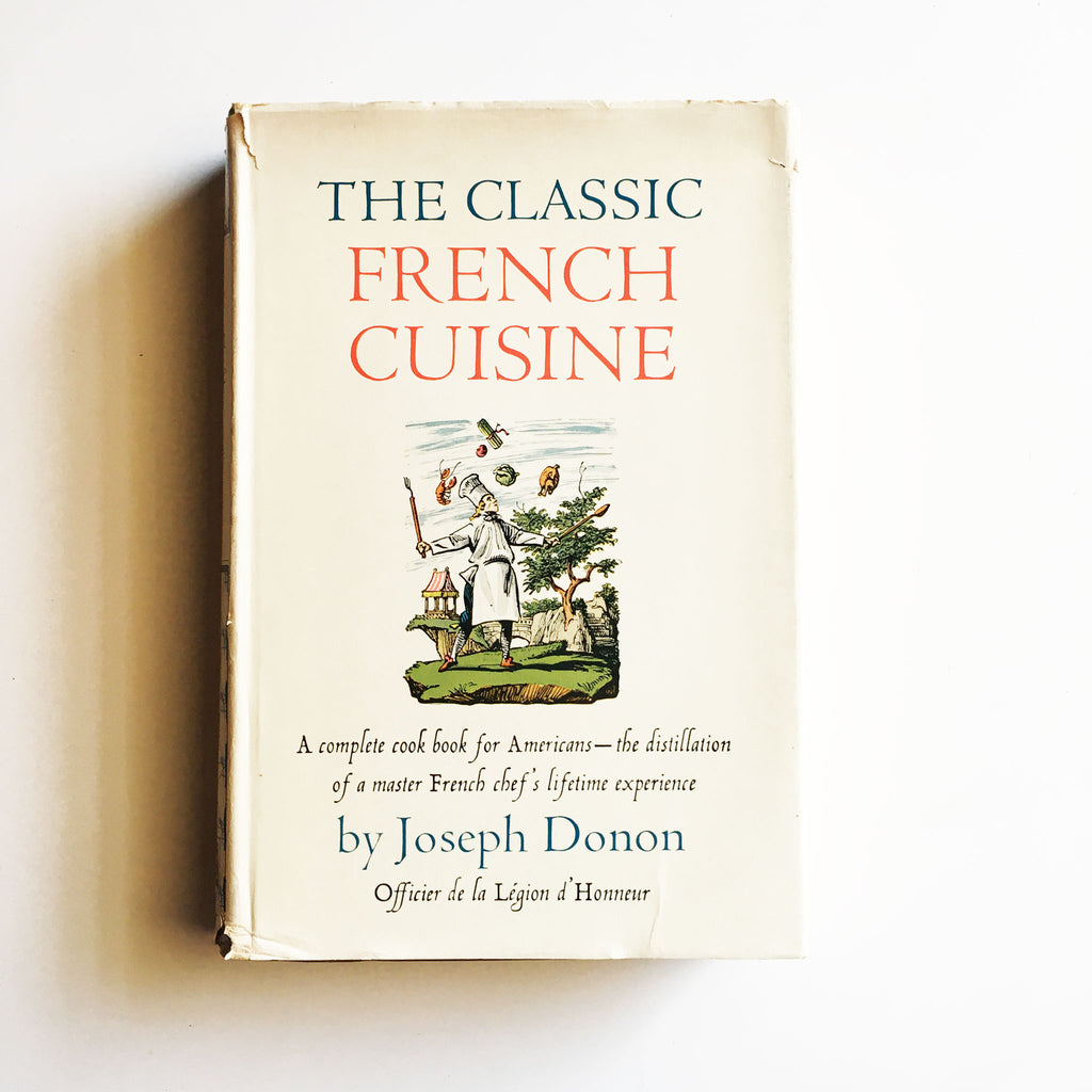 Classic French Cuisine (Joseph Donon) Previously Owned