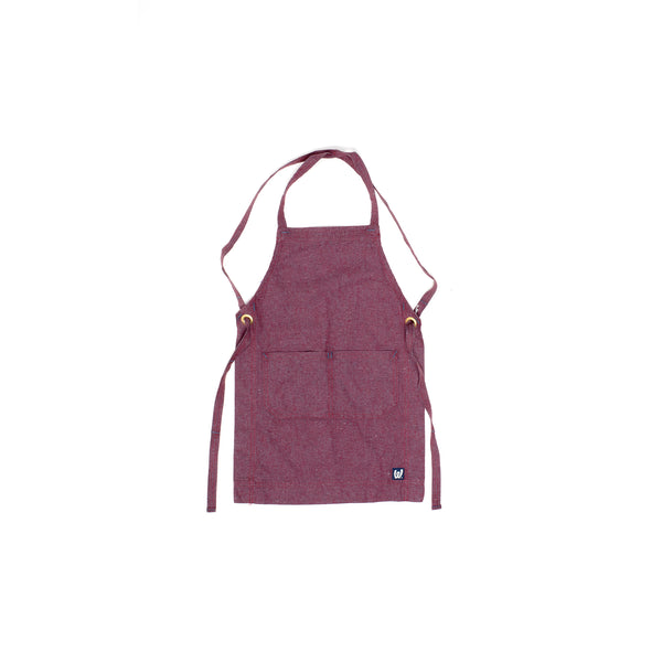White Bark Grenache Children's Apron (5-8)
