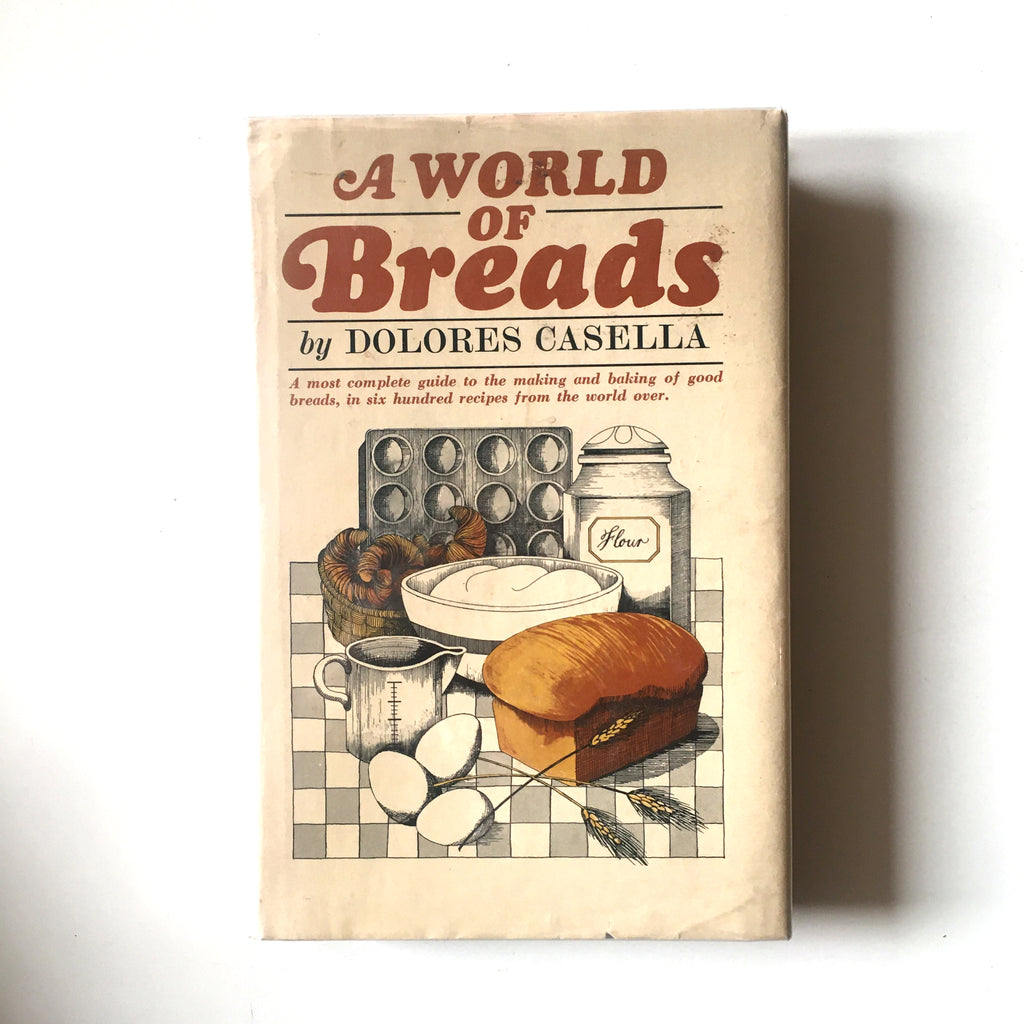 A World of Breads (Dolores Casella) Previously Owned