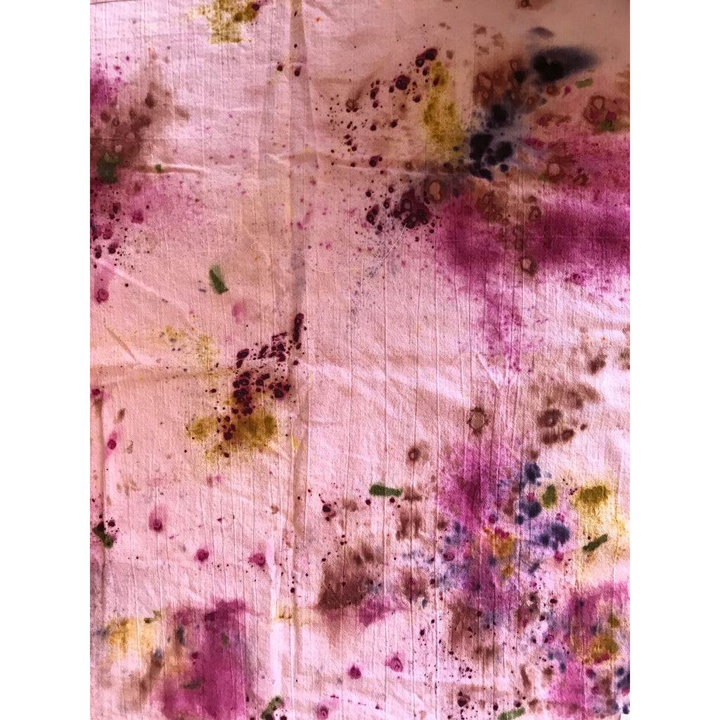 a_db botancial color Botanically Dyed Floursack Tea Towel
