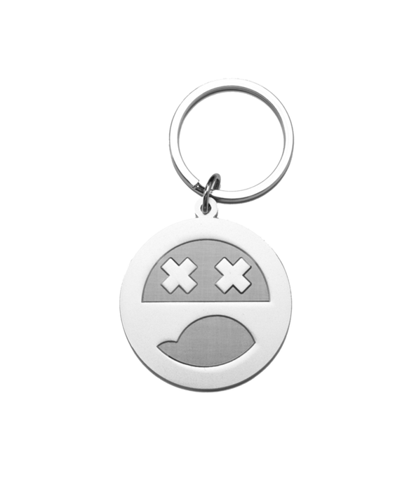 Facepunch Face Keyring