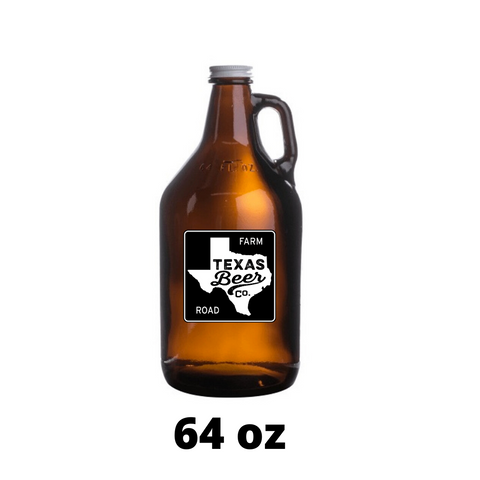 EMPTY 64 OZ GROWLER