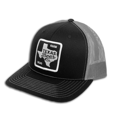 Black & Grey Snap Back Trucker Hat