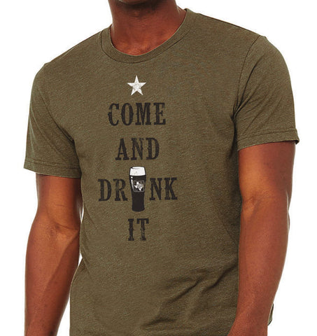 Short Sleeve Come and Drink It Tee