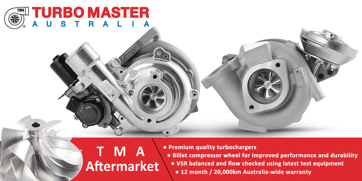 TMA Aftermarket Premium Quality Billet Turbochargers