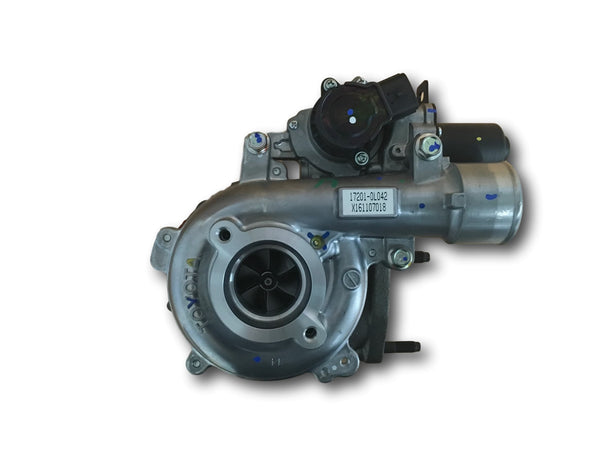 This genuine CT16V Toyota turbocharger is a brand new direct replacement for the factory unit to suit the 2005-2015 Toyota HiLux KUN26R D4D with a 1KD-FTV 3.0 litre common-rail diesel engine.