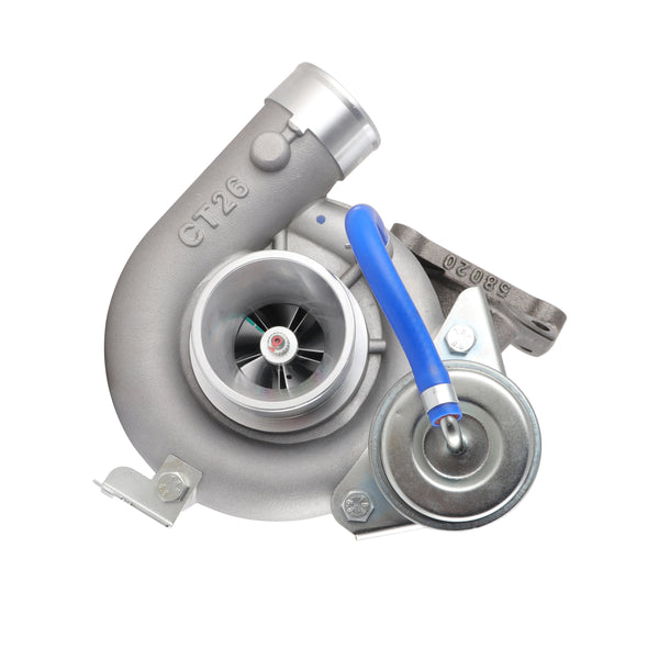 This premium quality CT26 TMA Aftermarket billet turbocharger is a brand new direct replacement for the factory unit to suit the 1990-1997 Toyota LandCruiser HDJ80 Series with a 1HD-T 4.2 litre diesel engine.