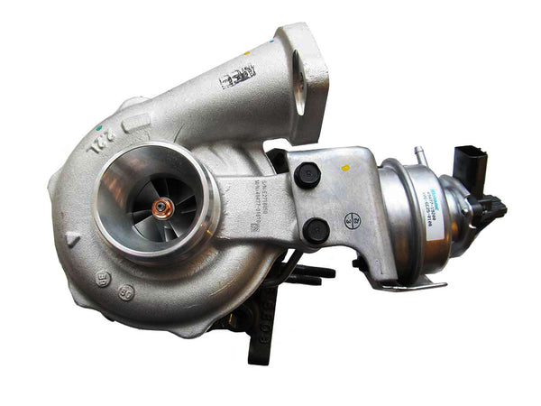 This genuine TD04HL-12T Mitsubishi (MHI) turbocharger is a brand new direct replacement for the factory unit to suit the 2009-2017 Holden Captiva with a Z22D1 2.2 litre diesel engine.