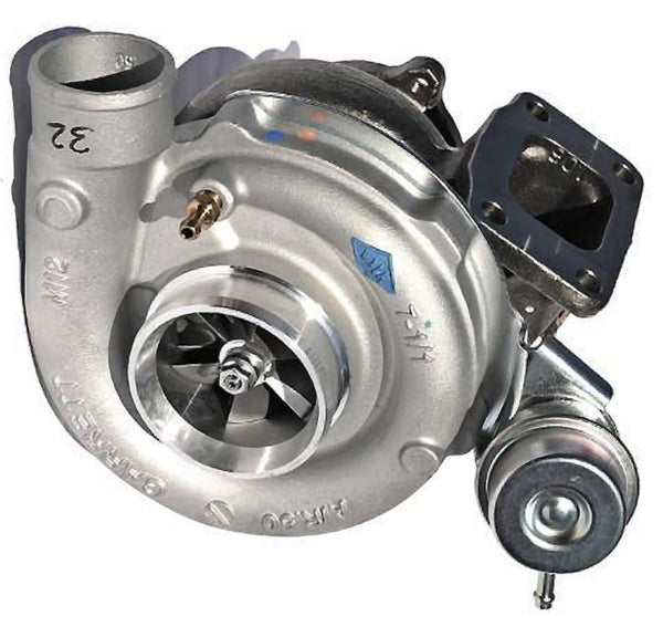 This genuine GT3582RL Garrett turbocharger is a brand new direct replacement for the factory unit to suit the 2002-2008 Ford Falcon BA-BF XR6 with a Barra 4.0 litre petrol engine.