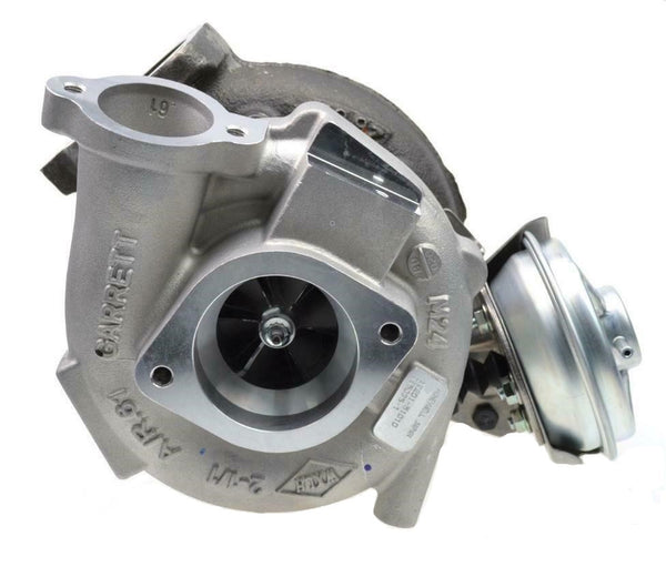 This genuine GTA2359V Garrett turbocharger is a brand new direct replacement for the factory unit to suit the 2007-2018 Toyota LandCruiser 70 Series (VDJ76, VDJ78, VDJ79) with a 1VD-FTV V8 4.5 litre common-rail diesel engine.