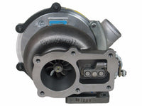 This genuine GT3576D Garrett turbocharger is a brand new direct replacement for the factory unit to suit various on-highway truck and buses built from 1997 onwards with a Hino J08C-TI 8.0 litre diesel engine.