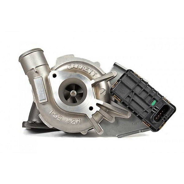 This genuine GTA2052V Garrett turbocharger is a brand new direct replacement for the factory unit to suit the 2006-2015 Ford Transit 330, 350, 370, 430, 460 / Land Rover Defender TD4, 90, 110, 130 wth a H9FB/H9FD/ZSD-424/244DT 2.4 litre diesel engine.