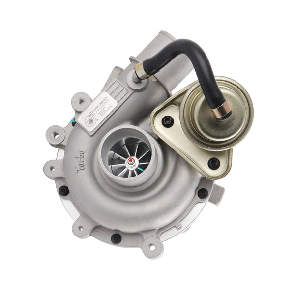 This premium quality VJ33 RHF5 TMA Aftermarket billet turbocharger is a brand new direct replacement for the factory unit to suit the 1999-2006 Ford Courier PE, PG, PH / Mazda B2500 with a WL-T 2.5 litre diesel engine.