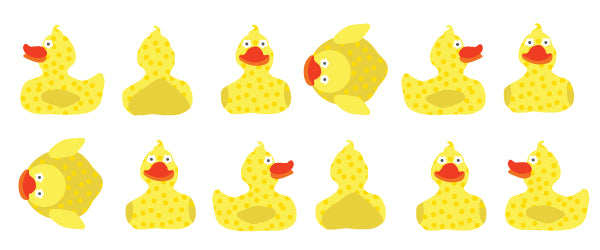 Dancing Rubber Duckies