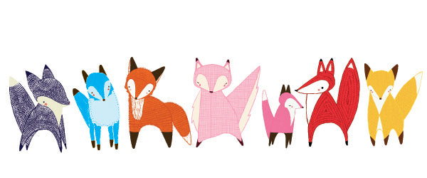 Gingiber Friendly Foxes