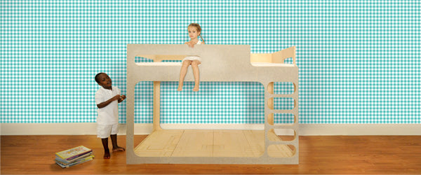 Giddy Gingham Wallpaper