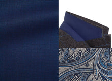 Load image into Gallery viewer, MICHAEL Sport coat-Royal Blue Nail Head Wool blend