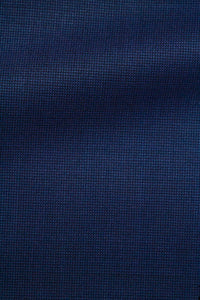 ANTHONY Pant- Royal Blue Nail Head Wool Blend