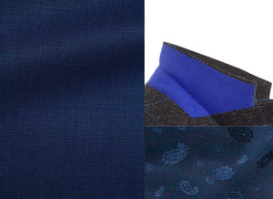 MICHAEL Sport coat-Royal Blue Nail Head Wool blend