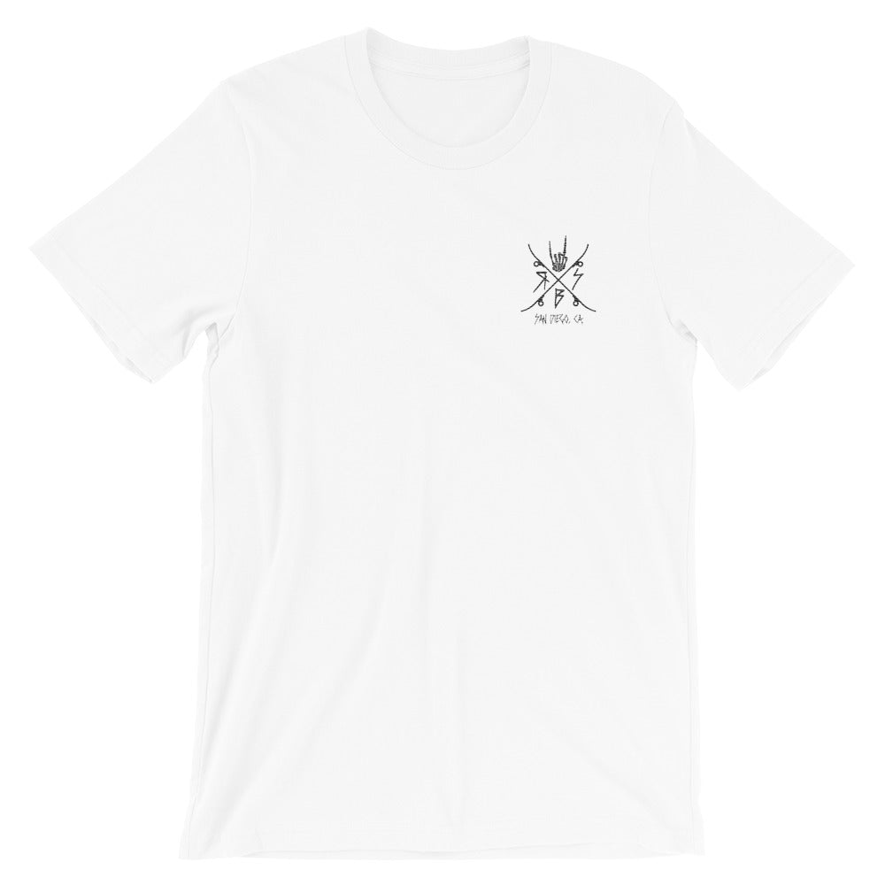 Raid SB Embroidered Logo Tee
