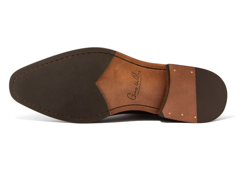 Paterson Penny Loafers - Rust - Gaius Walks