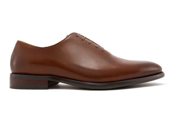 Andres Wholecut Oxfords - Rust - Gaius Walks