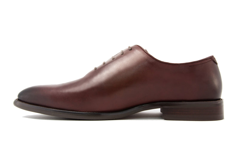 Andres Wholecut Oxfords - Sangria - Gaius Walks