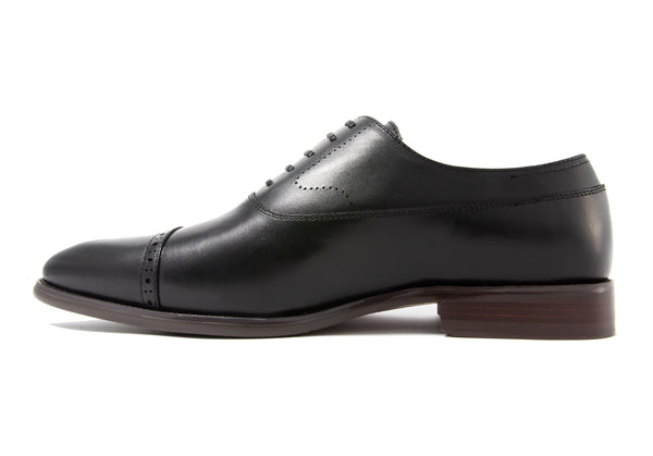 Burchell Cap Toe - Ebony - Gaius Walks