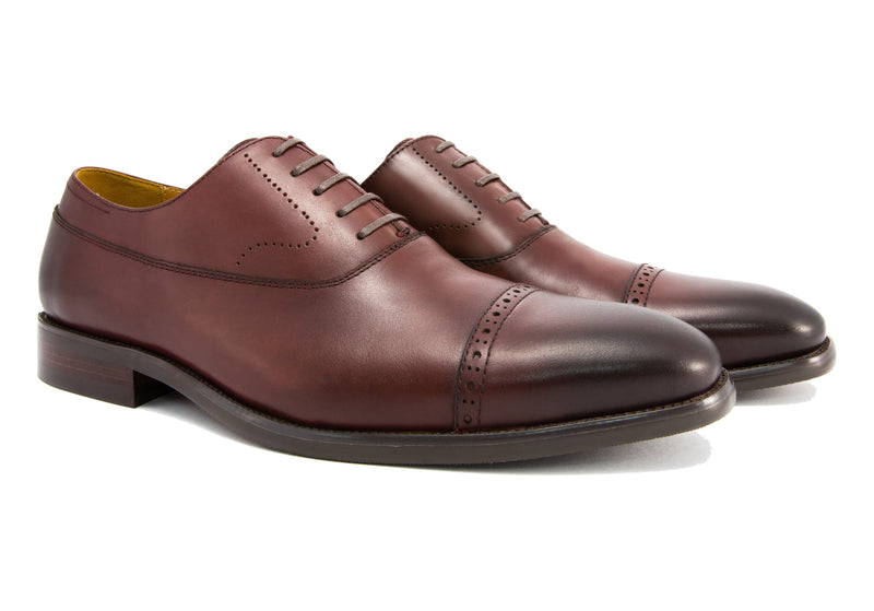 Burchell Cap Toe - Sangria - Gaius Walks