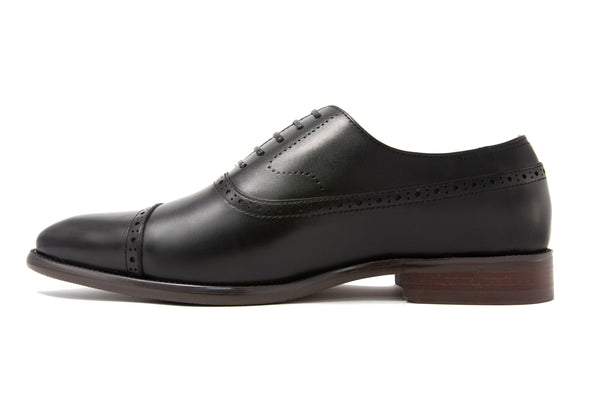 Franco Cap Toe - Ebony - Gaius Walks