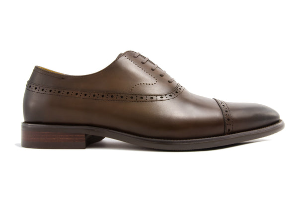Franco Cap Toe - Espresso - Gaius Walks