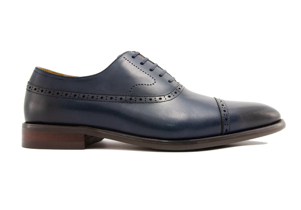 Franco Cap Toe - Indigo - Gaius Walks