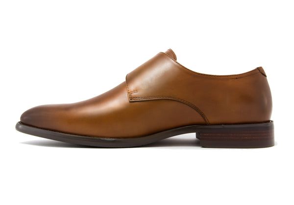 Gianni Single Monkstrap - Pecan - Gaius Walks