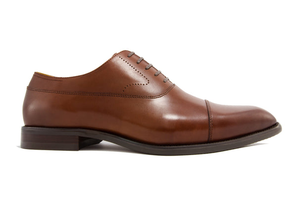 Luca Cap Toe - Rust - Gaius Walks