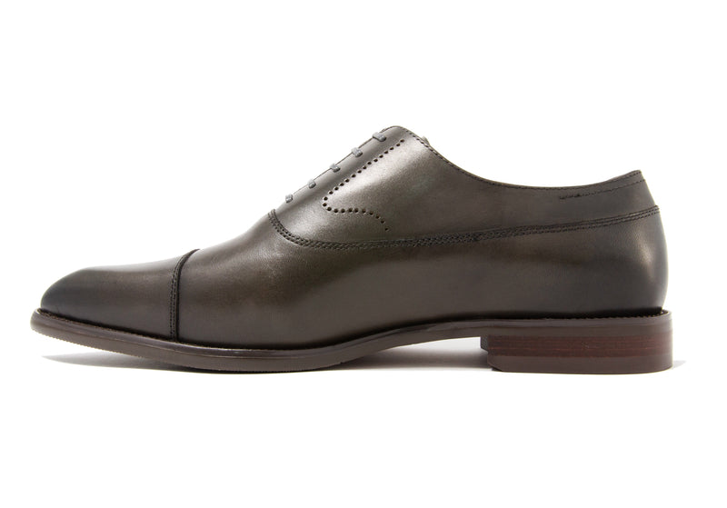 Luca Cap Toe - Slate - Gaius Walks