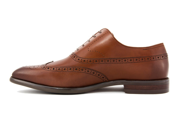 Rafael Wingtips - Rust - Gaius Walks