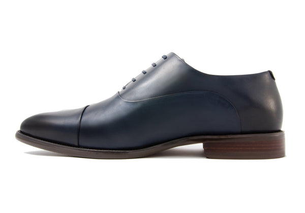 Romeo Cap Toe - Indigo - Gaius Walks
