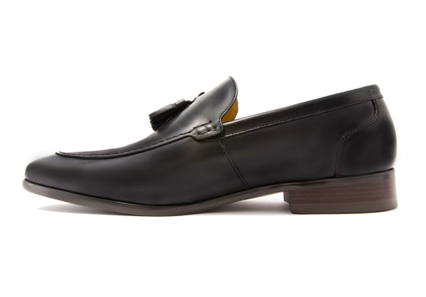 Roque Tassel Loafers - Slate - Gaius Walks