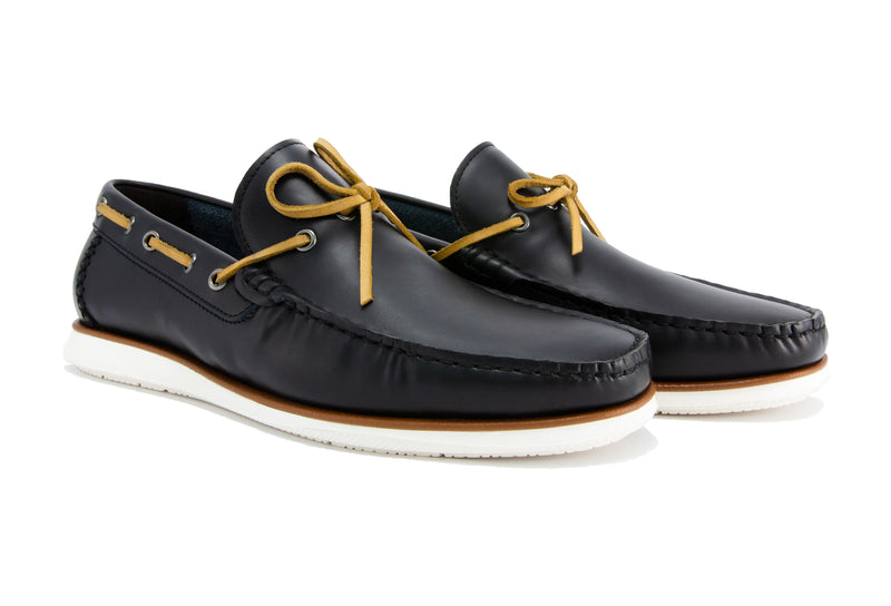 Sergio Driver Loafers - Ebony - Gaius Walks