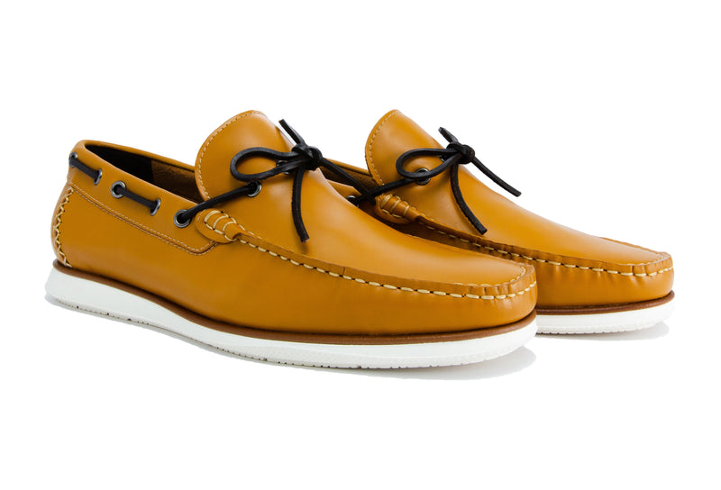 Sergio Driver Loafers - Pecan - Gaius Walks