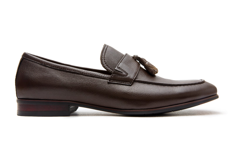 Guido Tassel Loafers - Espresso - Gaius Walks