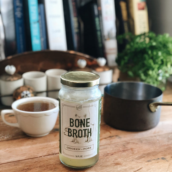 Bone Broth: Pastured Bone Broth Cocktail
