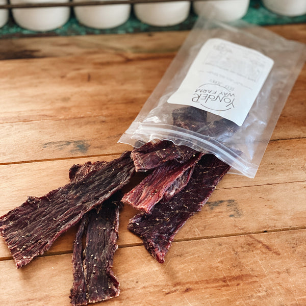 NEW!! Grass-Fed Beef: Beef Jerky (Jalapeno)