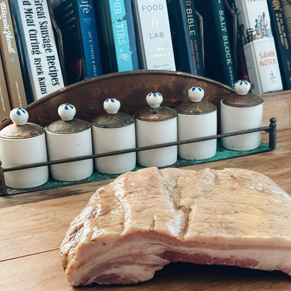 Pastured Pork: Smoked Pork Belly Roast NEW!